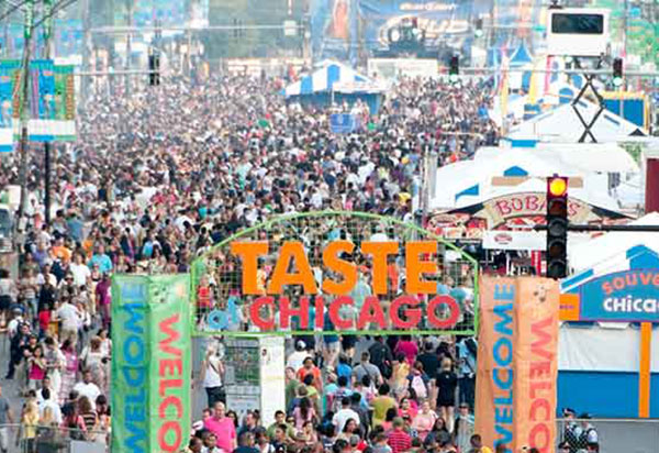 Photo of the Taste of Chicago