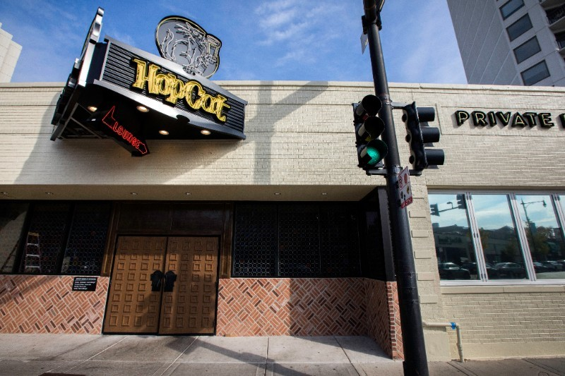 picture of the outside of HopCat