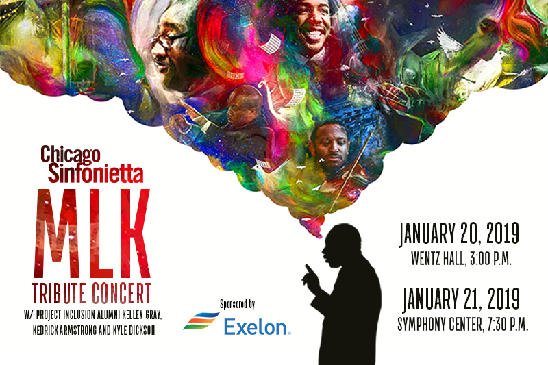 MLK tribute concert logo