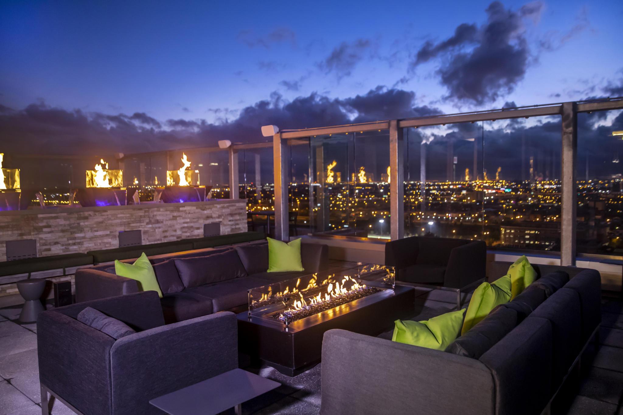VU rooftop