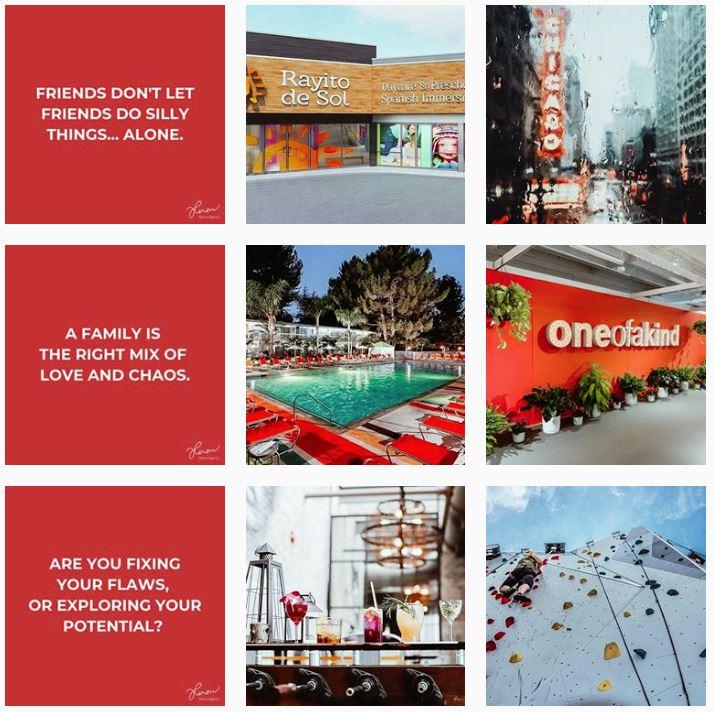 Heron Agency Instagram